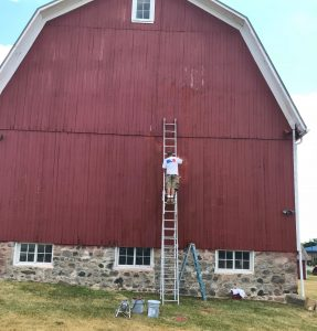 Fisk Farm Barn Refurbishing Project 2018