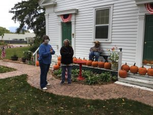 Schoolhouse w scarecrow 9 29 20